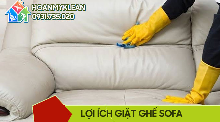 Lợi ích của việc giặt ghế sofa