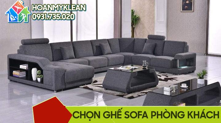 Kinh nghiệm mua sofa phòng khách