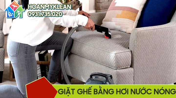 Giặt ghế sofa bằng máy hơi nước nóng