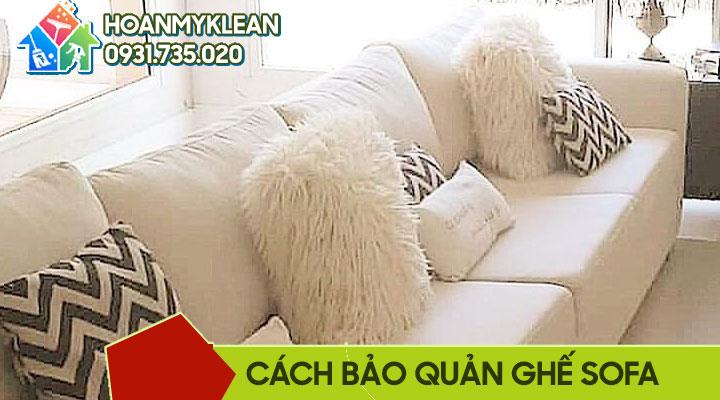 Hướng dẫn cách bảo quản ghế sofa da và vải theo từng mùa thời tiết